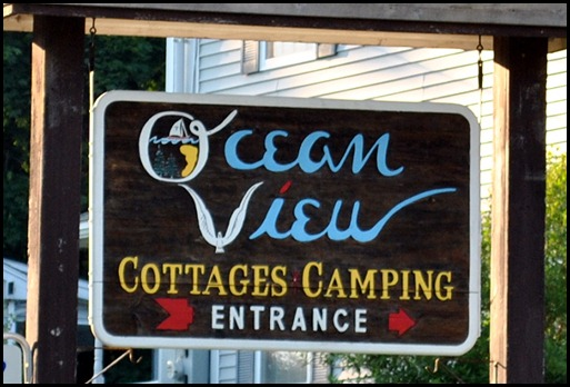 10 - Ocean View Campground Sign