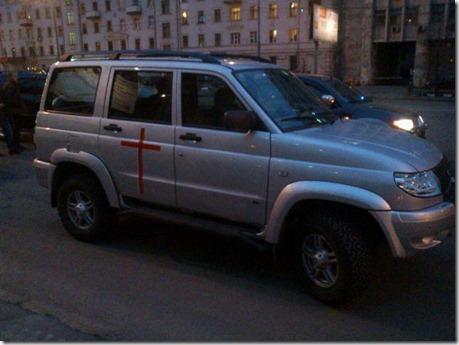 Автопробег в защиту РПЦ