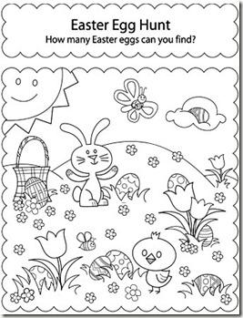 Pattern Worksheets » Easter Pattern Worksheets - Preschool and ...