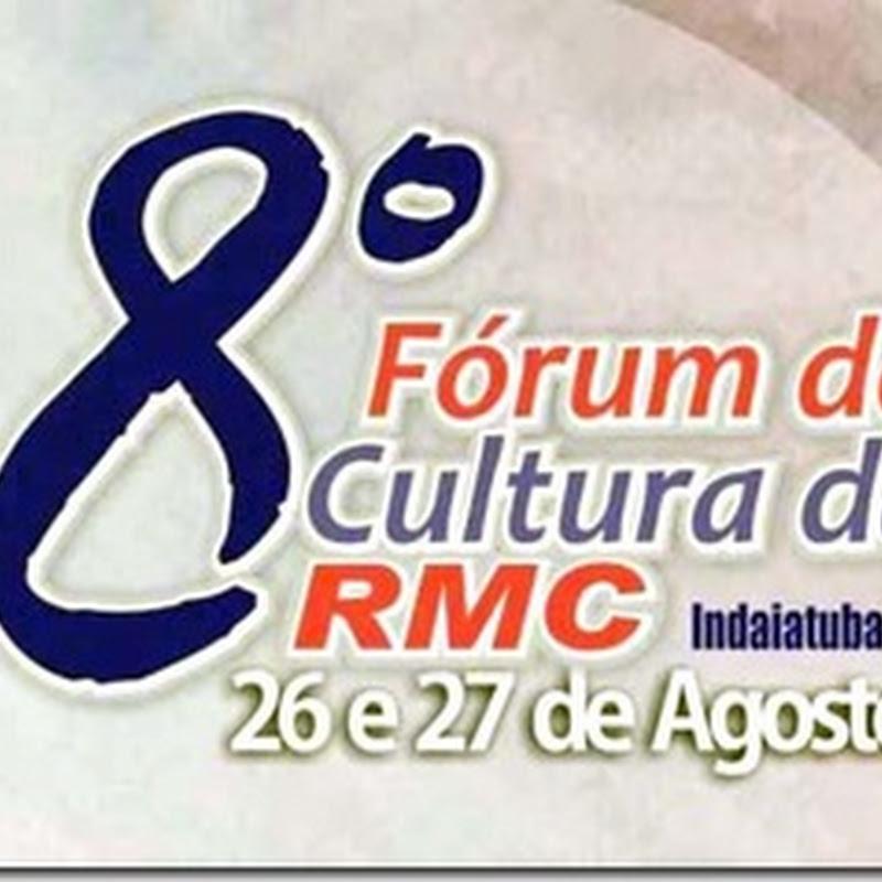 8º Fórum de Cultura da RMC em Indaiatuba