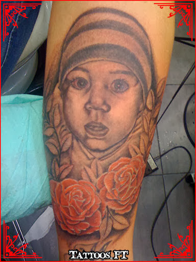 portrait - tattoos for women