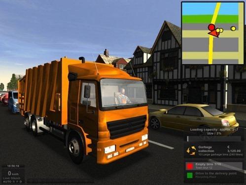 Juego de camiones Garbage Truck Simulator