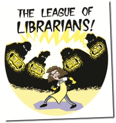 league of librarians t small