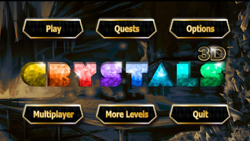 3D Crystals - Multiplayer Game