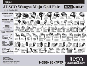 Jusco-Wangsa-Maju-Golf-Fair-2011-EverydayOnSales-Warehouse-Sale-Promotion-Deal-Discount
