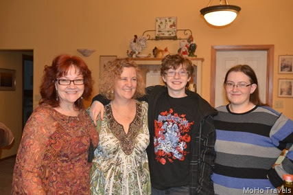 Melody, Deborah, Xavier, and Axel