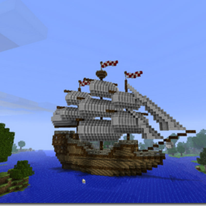Minecraft - Bateau Pirate Mod
