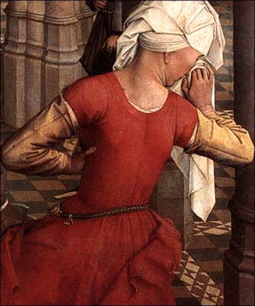 Van der Weyden,Détail de Déposition de croix