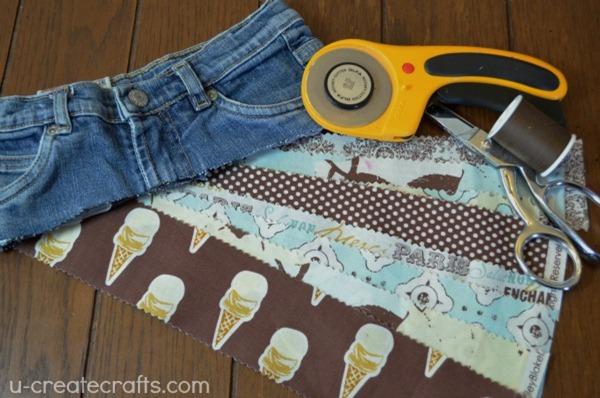 Rolie Polie Raggedy Skirt Tutorial 1