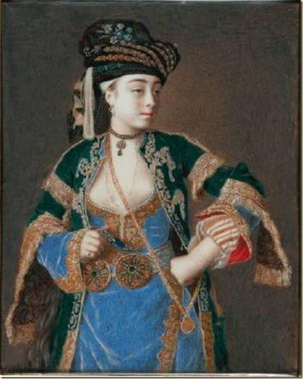 Jean-Etienne Liotard, Laura Tarsi en costume turc