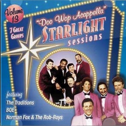 Doo Wop Acappella Starlight Sessions - Volume 13 - Front Cover