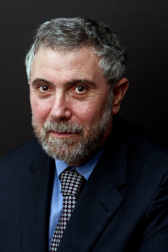 Paul Krugman, professor of Economics and International Affairs at Princeton University. Photo: Fred R. Conrad / The New York Times