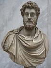 Busto rehecho del emperador Cómodo (180-192 d.C.) de Tor Bovacciana (Ostia) y actualmente en los Museos Vaticanos