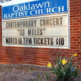 WBFJ Welcomes 33 Miles - Oaklawn Baptist Church - Winston-Salem - 3-18-11