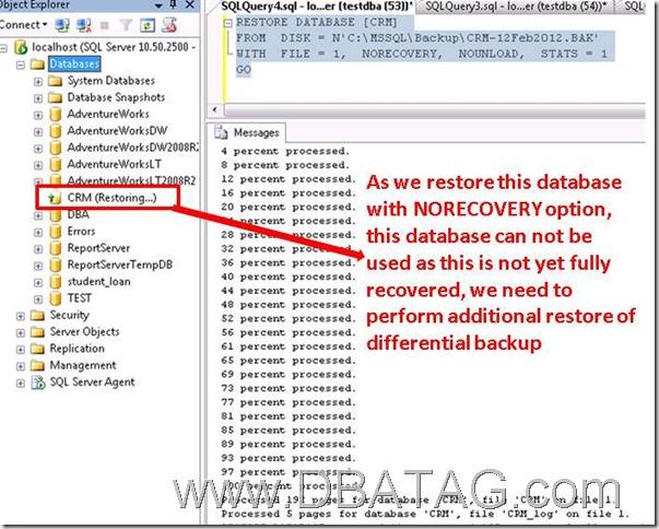 SQL 2008 Restore Database sql server restore database with recovery restore database sql restore database in sql server 2008 database restore sql server
