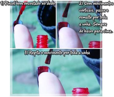 Unha Estilo Louboutin Nails