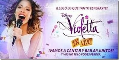 Recital de VIoletta en Salta 2015 Argentina entradas baratas hasta adelante