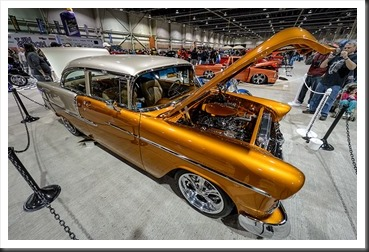 Wes Cassel's 1955 Chevy Bel Air - Motorama