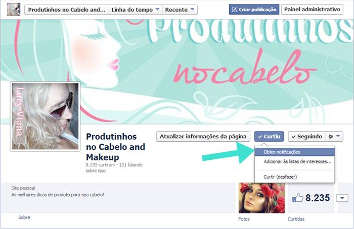 Facebook Produtinhos