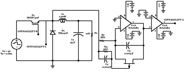 Combined circuit of One-cycle control for Buck converter