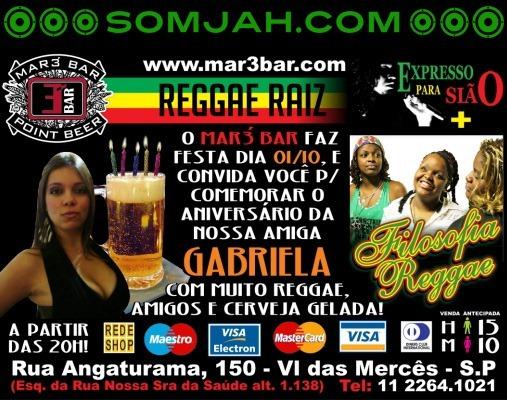 festa reggae