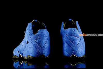 nike lebron 11 nsw sportswear ext blue suede 4 03 Nike LeBron XI EXT Blue Suede   1 of 3   NSW Retail Version