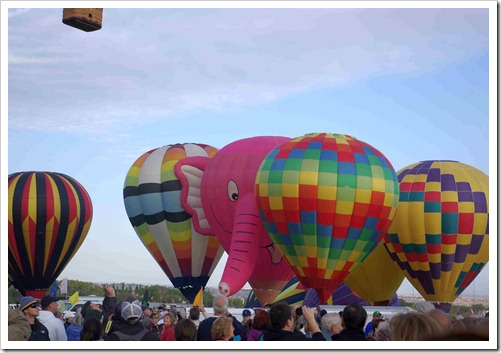 pink elephant balloon