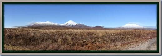 Mt Tongariro,Mt Ngauruhoe, Mt Tongariro Panorama