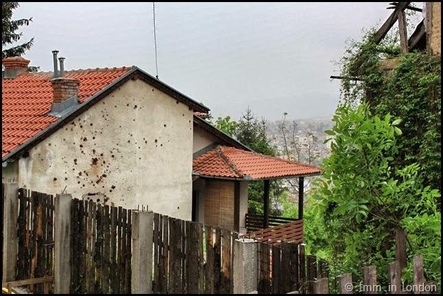 Scars of war Sarajevo