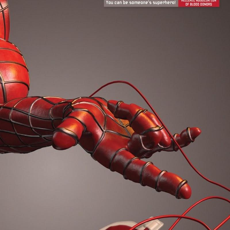 Dona sangre, se un superhéroe