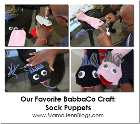 BabbaBox Sock Puppets