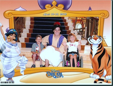 Disney Dream 2012