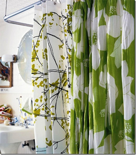 bathroom decorating ideas for shower curtains