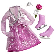 Barbie Complete Looks Ice Skating Doll Fashion Outfit Pink