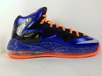 nike lebron 10 ps elite blue black 3 08 Release Reminder: Nike LeBron X P.S. Elite Superhero