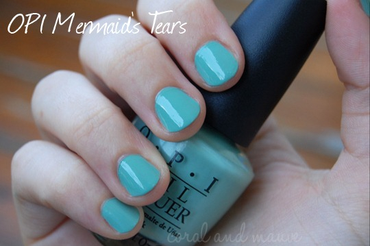 OPI Mermaid's Tears Swatch