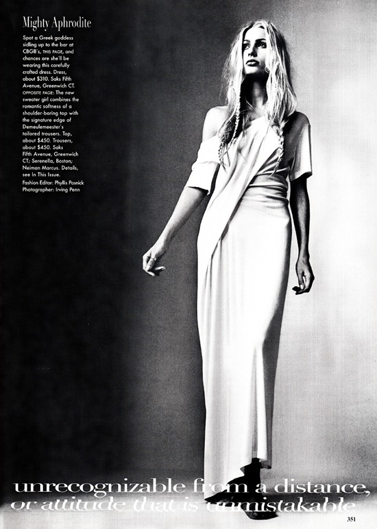 vogue us april 1997 Ann  Demeulemeester  4