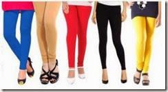 Shopclues : Buy Women's Legging – Set Of 5 At Rs.399 only