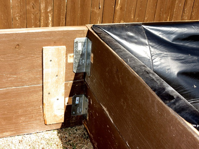 building raised garden box style with cents1