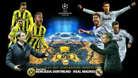 Prediksi Dortmund vs Real Madrid