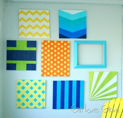 Pattern Wall Gallery