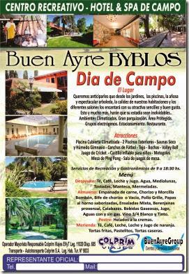 Dia de Campo Folleto Free