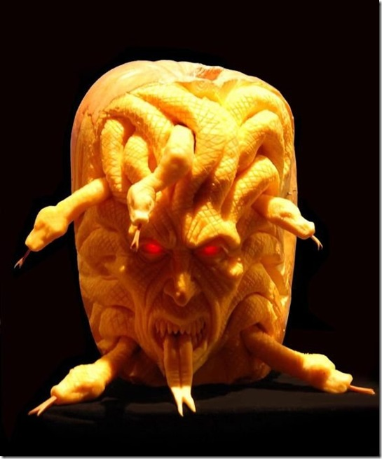 awesome pumpkin carving 11