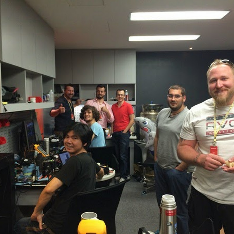 GIGABYTE OC Lab Gets Overrun….by OC Sharks!