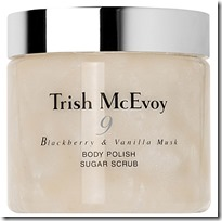 Trish McEvoy Blackberry and Vanilla Musk Body Polish Sugar Scrub