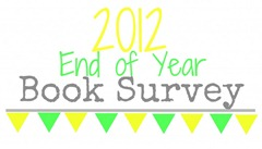 2012 end of year survey