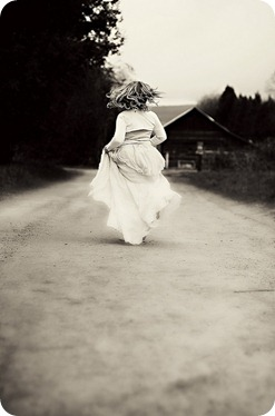 Amiga corriendo