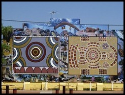 Australia, Tennant Creek street art, 11 October 2012 (1)