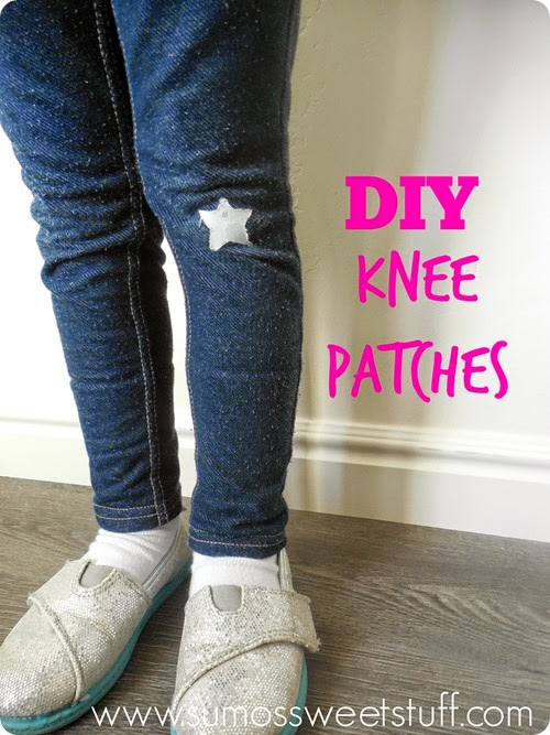 DIY Knee Patches with Cricut Explore at SumosSweetStuff.com