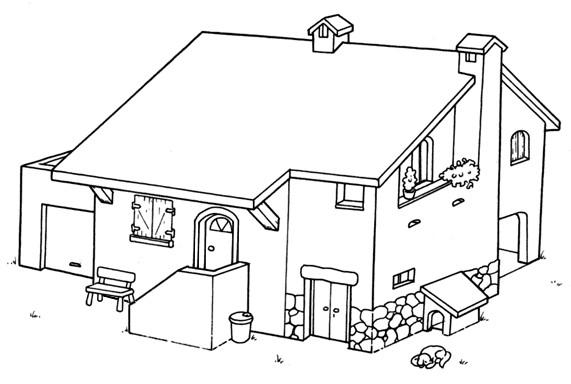 La granja para colorear colorear la granja - Disegnare bagno gratis ...